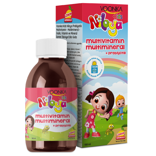 Voonka Kids Niloya Multivitamin Multimineral 150 ml Şurup