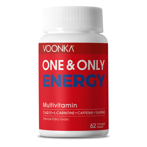 Voonka One & Only Energy Multivitamin 62 Yumuşak Kapsül
