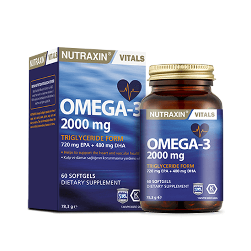 Nutraxin Omega 3 2000 mg 60 Softjel