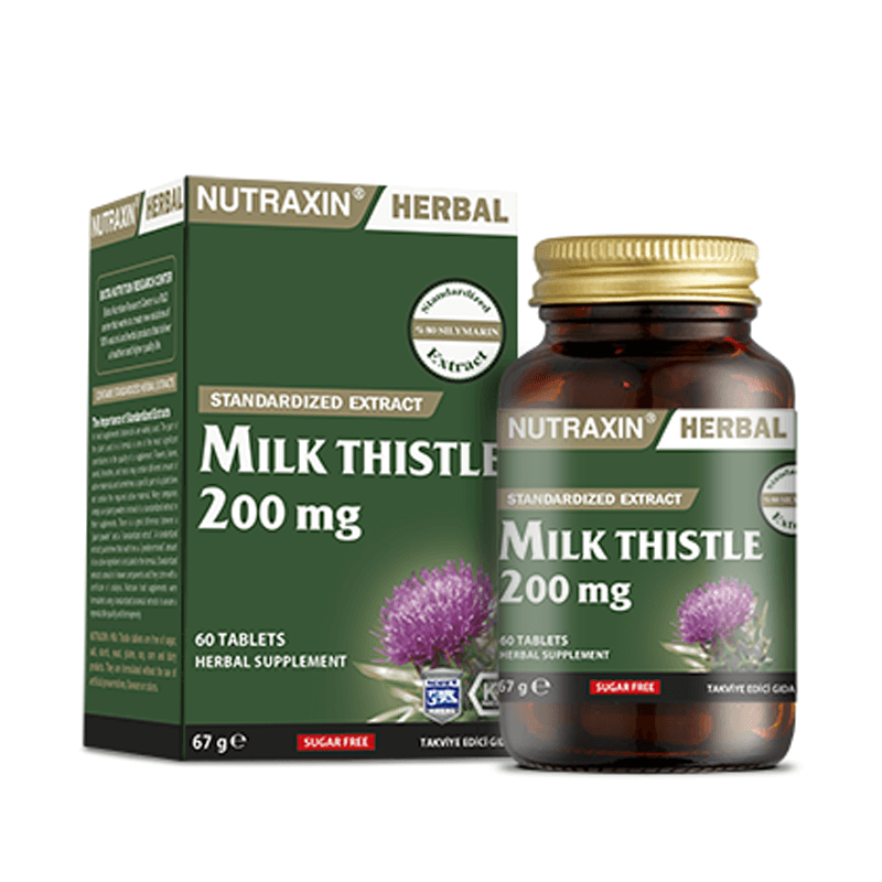Nutraxin Milk Thistle 200 mg 60 Tablet